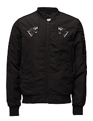Shortbomberjacket - BLACK
