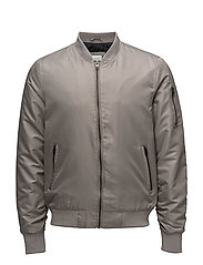 Short bomber jacket - SAND