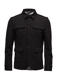 Casual blazer - BLACK