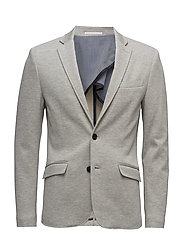 Casualknittedblazer - LT GREY MIX