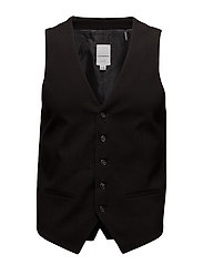 Men's waistcoat for suit - BLACK