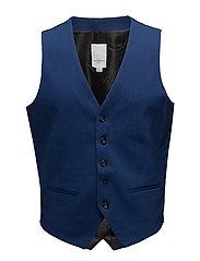 Men's waistcoat for suit - BLUE