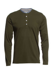 Classic granddad  l/s - RIFLE GREEN