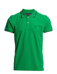 Lindbergh Contrast coloured polo pique