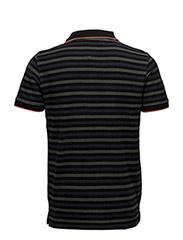 Stripedbuttonpolopiqués/s