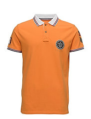 Polo pique S/S - ORANGE