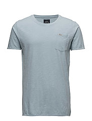 Washed tee - LT BLUE