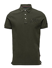 Polo w. applications S/S - ARMY