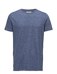 Mouliné tee S/S - BLUE MIX