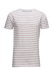StripedteeS/S - DARK ROSE