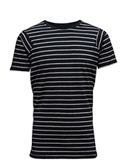Striped tee S/S - NAVY