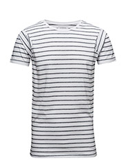 StripedteeS/S - WHITE