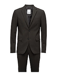Plain mens suit-blazer + pants