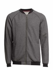 Sweat cardigan - GREY MEL