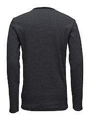 Stripedo-necksweatshirt
