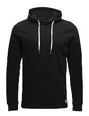 Basic sweat hoodie - BLACK