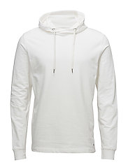 Basic sweat hoodie - WHITE