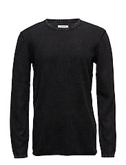 Acidwashknit - BLACK