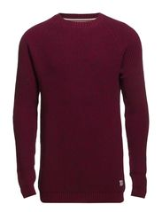 O-neck jumper - RED