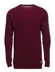 O-neck jumper - RED