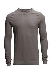 O-neck knit - SAND