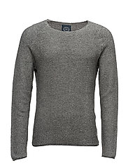 O-neckknit - GREY MIX