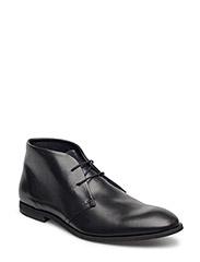 Leatherboot - BLACK