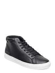 HighLeathersneakershoe - BLACK