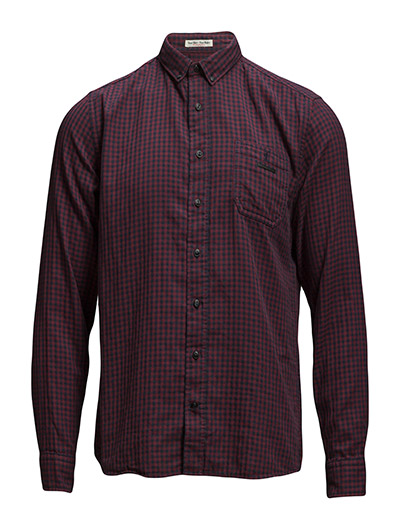 Lindbergh Checked double face shirt L/S