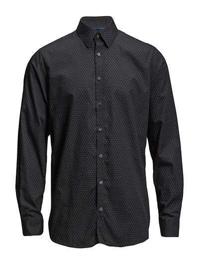 Lindbergh Triangle printed shirt L/S