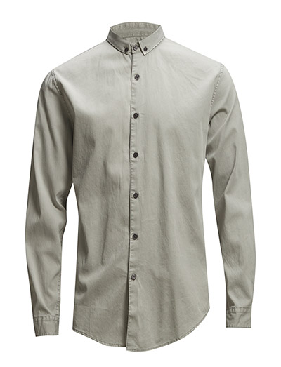 Lindbergh GarmentdyedshirtL/S
