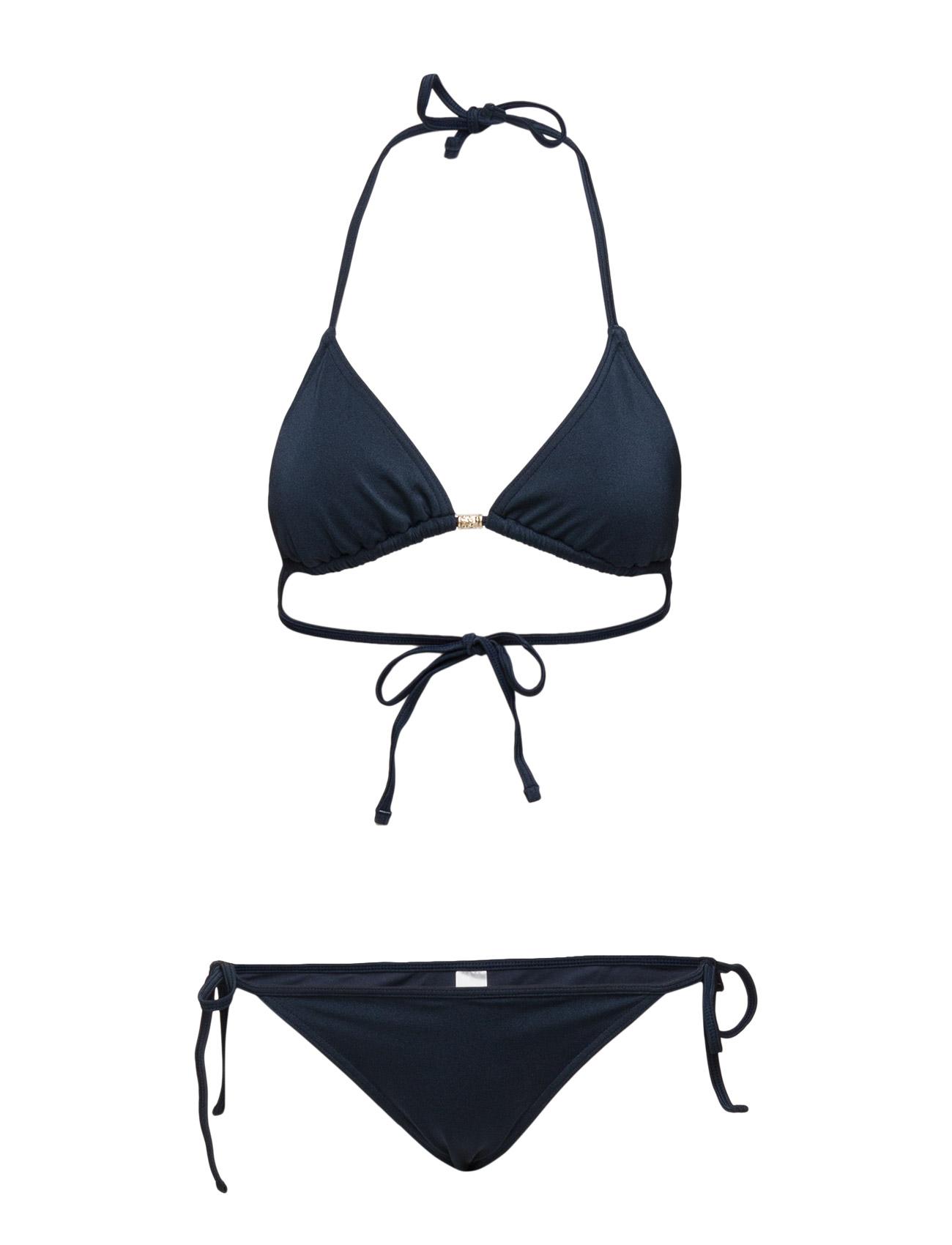 Sunny Ss16 Solid Line of Oslo Bikinier til Damer i Blå