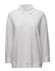 Fred linen solid - WHITE