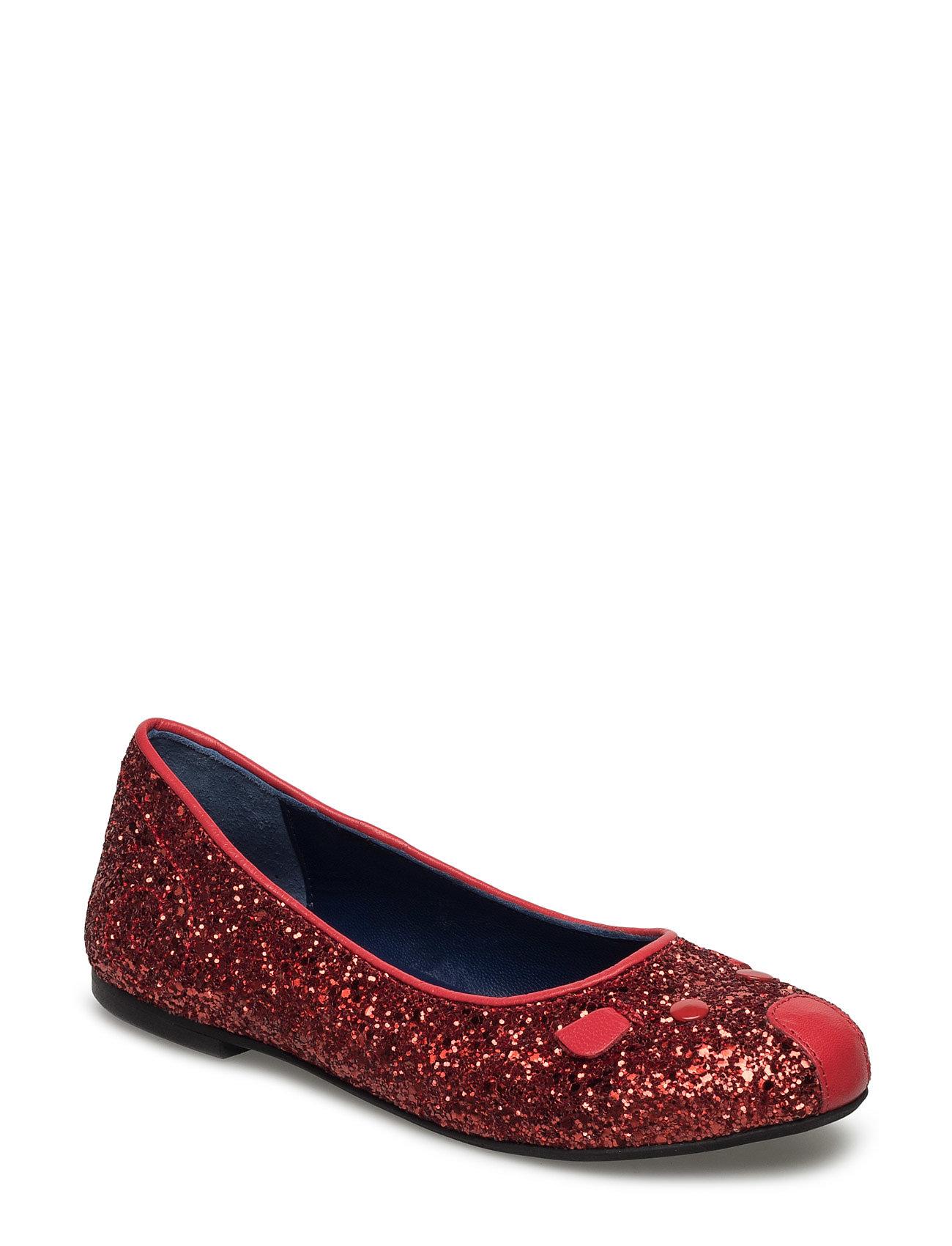 Ballerina Shoes Little Marc Jacobs Sko til Piger i Rød