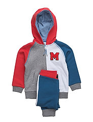 TRACK SUIT - BLUE  RED