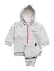 TRACK SUIT - CHINE GREY