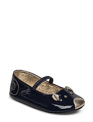 BALLERINA SHOES - DARK INDIGO