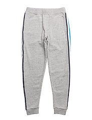 JOGGING BOTTOMS - CHINE GREY