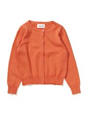LITTLE NY CARDIGAN/13 - Clear Coral