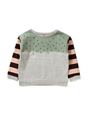 LITTLE AMERICAN SWEAT - Light Grey Melange