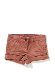 LITTLE CORDY SHORTS - Baroque Red