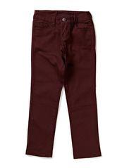 LITTLE FUNKY FIVE LEGGINGS/WINE RED - Wine Red