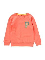 LITTLE P SWEAT - Clear Coral