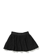 LITTLE LACE SKIRT - Antracit