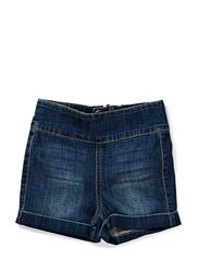 LITTLE FUNKY HIGHWAIST SHORTS/LT BLUE 14 - Dark Blue