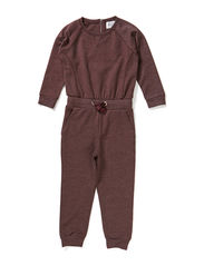 LITTLE DENVY LS JUMPSUIT - Dark Violet