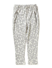 LITTLE DARLA HAREM PANTS - Light Grey Melange