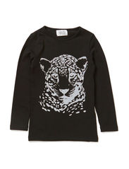 LITTLE PSDANGER LS TOP - Black