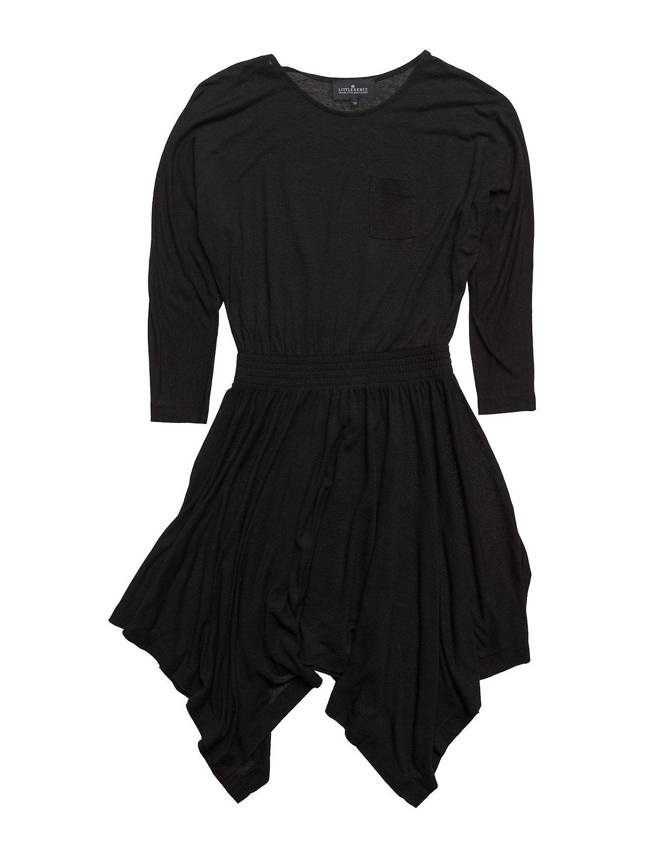 Jr New Blos Dress Little Remix Kjoler til Børn i Sort