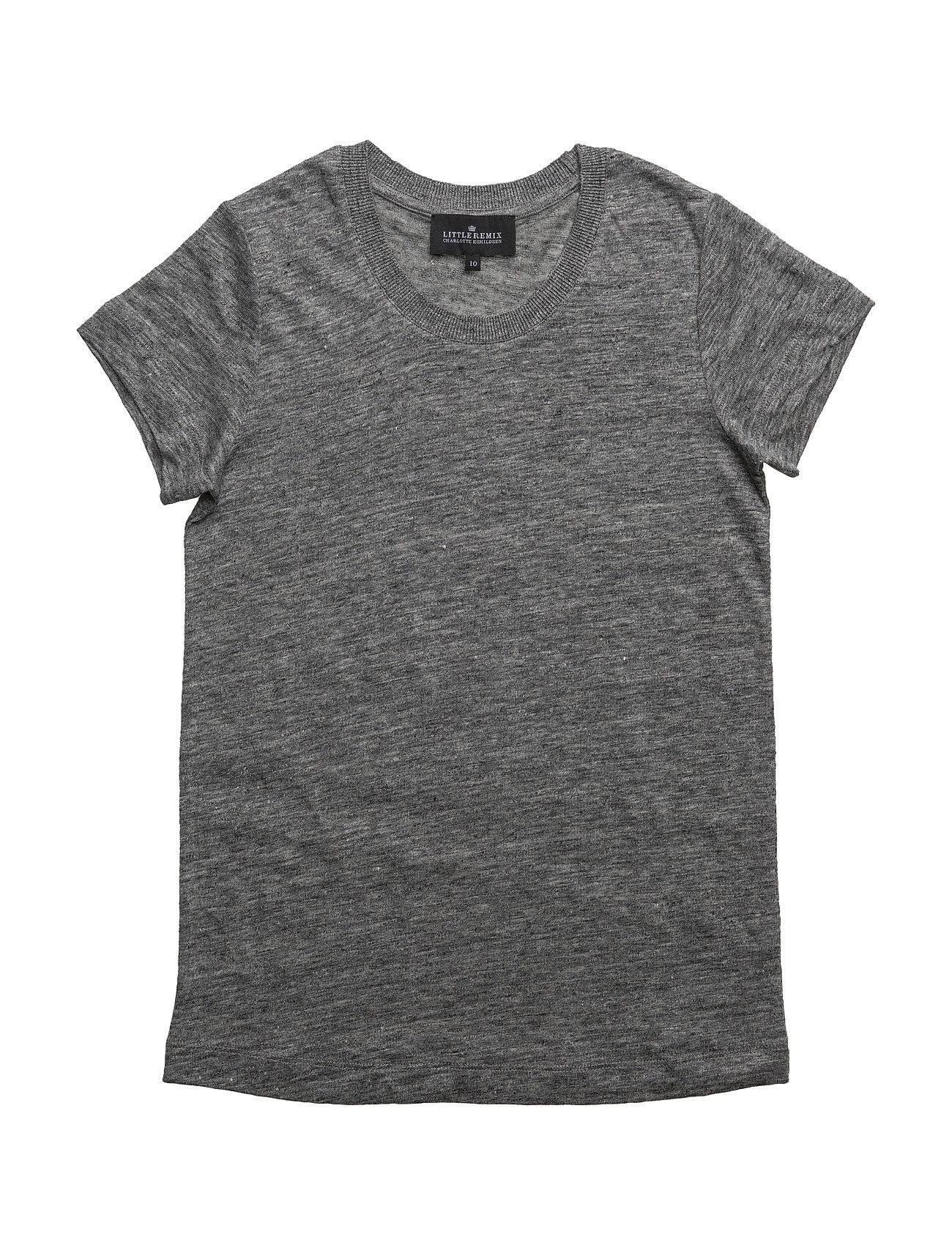 Jr Katie Tee Little Remix Kortærmede t-shirts til Børn i Grey Melange